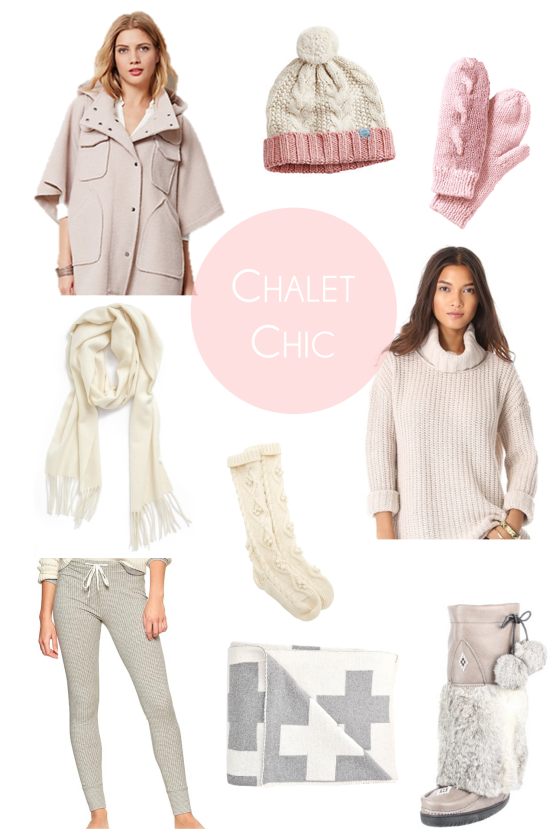chalet chic this one
