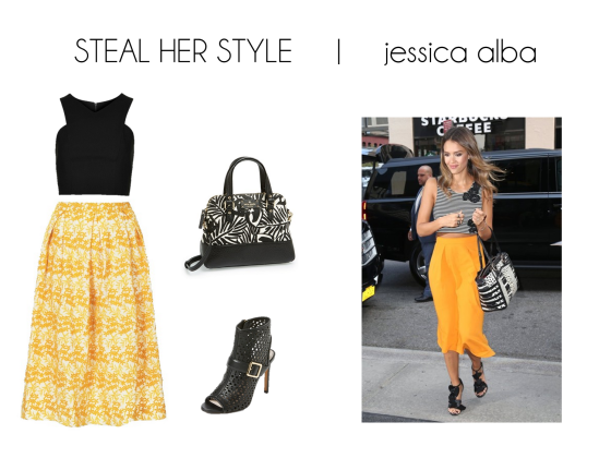 steal her style jessica alba