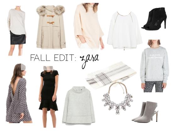 fall edit zara