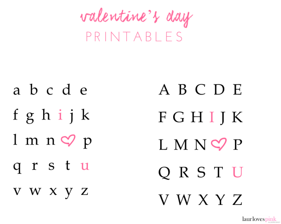laur loves pink i heart u valentines pink