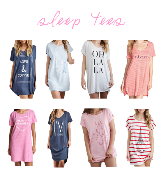 sleep tees